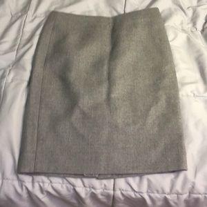 J crew wool pencil skirt